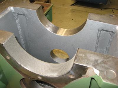 lasercladding application01 Công nghệ phun phủ kim loại bằng tia laser