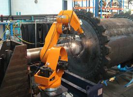 lasercladding onsite01 Công nghệ phun phủ kim loại bằng tia laser